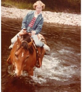 horse-bitterroot-river-girl
