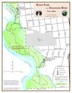 Skalkaho Bend Park Map